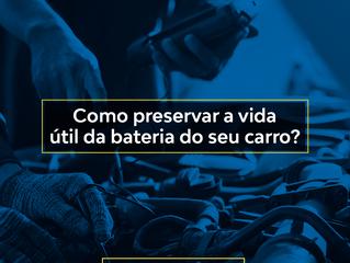 Como preservar a vida útil da bateria do seu carro?