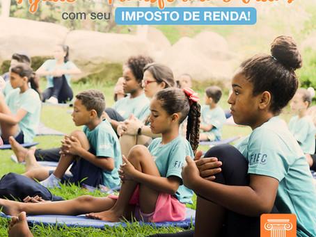 AJUDE A TRANSFORMAR VIDAS COM SEU IMPOSTO DE RENDA