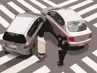O que fazer quando se envolver em diferentes tipos de colisão