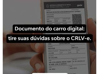 Documento do carro digital: tire suas dúvidas sobre o CRLV-e