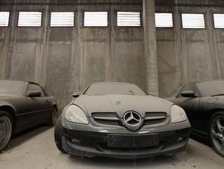 Os cuidados que é preciso ter com um carro que fica parado