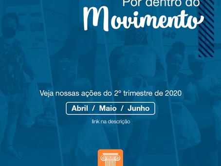 Por dentro do Movimento - 2º Trimestre / 2020