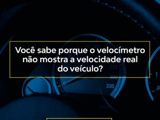 Você sabe porque o velocímetro não mostra a velocidade real do veículo?