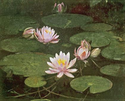«Лилии»  С картины Эббота Хендерсоан Тайера