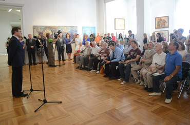 """Открытие выставки """"Сокровища духовного наследия"""""""