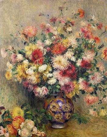 1882_Ваза с хрзантемами (Vase of Chrysan