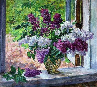 «Сирень»  С картины П.Кончаловского