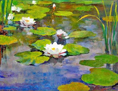 «Водяные лилии»  С картины Рэйя Кинсгли