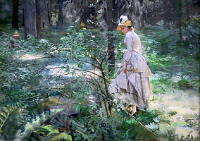 Zorn-Aquarelle-Buisson-1886 The Thorn Bu