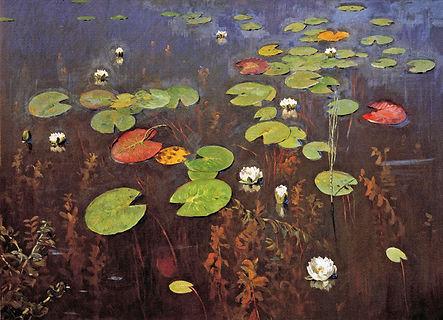 «Лилии»  С картины И.Левитана