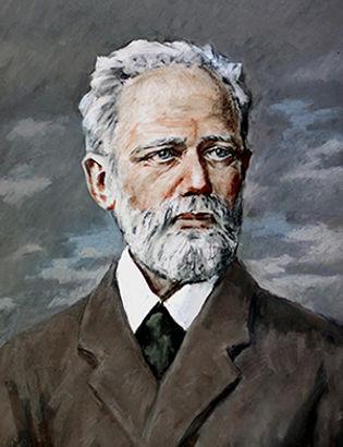 Портрет П.И.Чайковского Автор Р.Курамшин