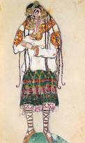Costume design for the ballet I.F. Strav