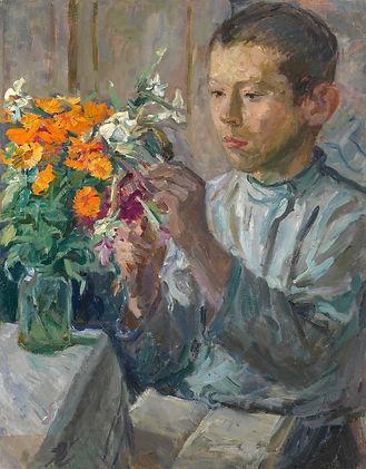 1 Ботанические уроки. Портрет сына худож