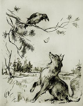 РинатК. Ворона и Лисица.jpg