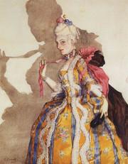 Эскиз костюма маркизы для Т.П.Карсавиной