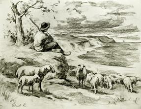 РинатК. Пастух и море.jpg