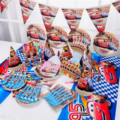 Cars Party Table Decoration