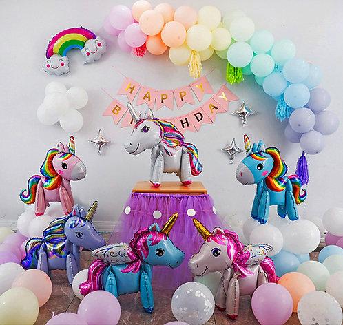 Macarons Unicorn Theme Balloon Party Box