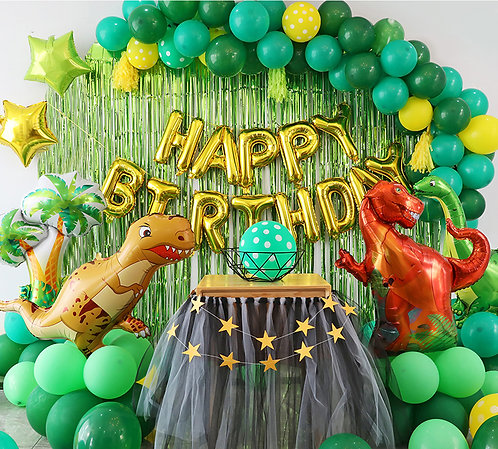 Dinosaur Themed Balloon Party Box Set A