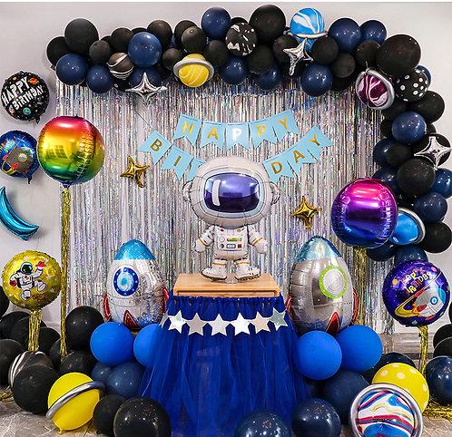 Outer Space Theme Balloon Party Box Set C