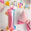 Thumbnail: Gradient Colour Baby 100 Days Balloon Decorations