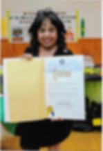 Awards Filomeno from Borough President 2