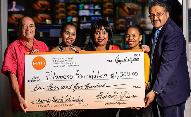 HIT-N TV donates to Filomeno Foundation
