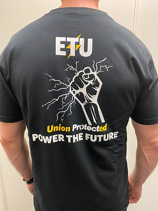 "ETU T-Shirt ""Power the future"""