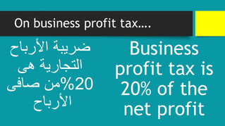 What is the taxation on profits?