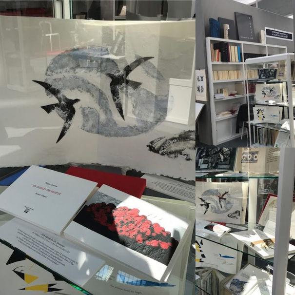 Exposition au Salon International du Livre Rare