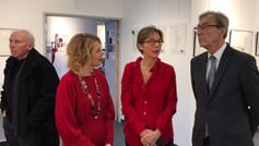 M. G. Siffredi, maire et F. Peythieux, FMA. Pavillon des arts et du patrimoine. Châtenay-Malabry. 2018