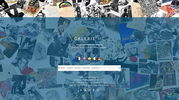 Galerie en ligne Michelle champetier à Cannes
