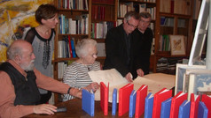 Dédicaces des premiers livres d'artiste des éditions d'art FMA