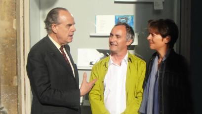 F. Mitterrand, B. Alligand, FMA