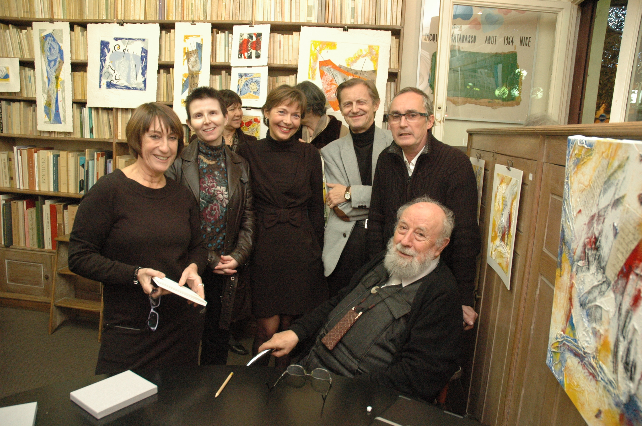 L. Matarasso, R. Detambel, FMA, S. Palsson, B. Alligand, M. Butor
