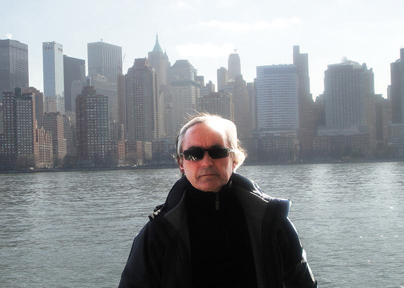 Bernard Alligand, inspiré par New-York, Propose 8 livres enluminés à Michel Butor.