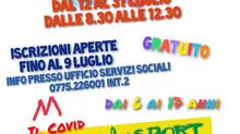 """Comune di Supino: GREST 2021 """"ABBASSO IL COVID, VIVA LO SPORT!"""""""