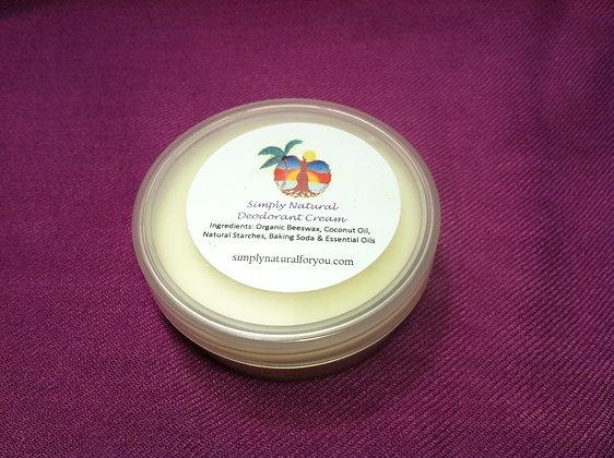 Simply Natural© Deodorant Cream