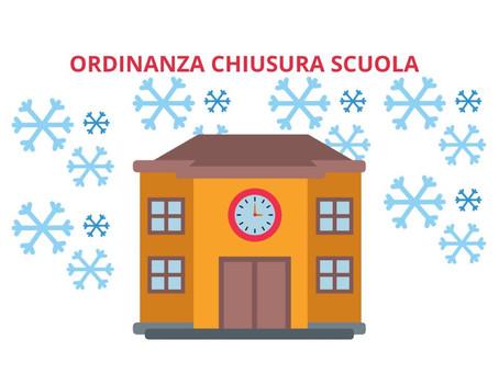 ORDINANZA CHIUSURA SCUOLA.