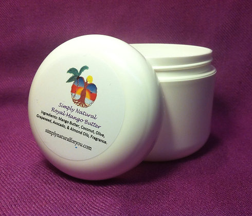 Simply Natural© Mango Butter - 4oz