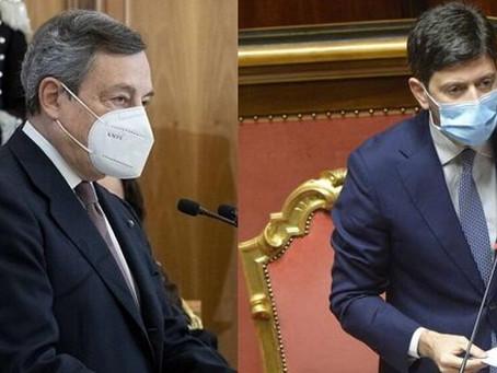Covid-19, il Presidente Draghi firma il Dpcm 2 marzo 2021