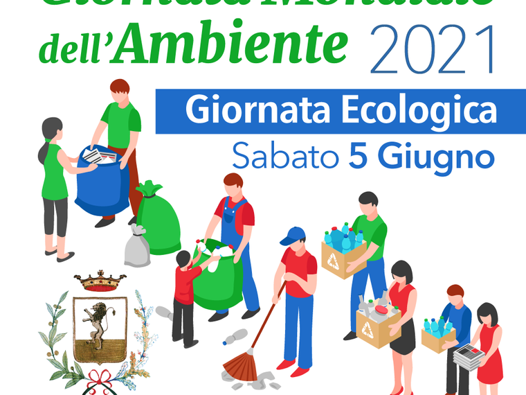 GIORNATA ECOLOGICA 2021 - Sabato 5 giugno #Supino