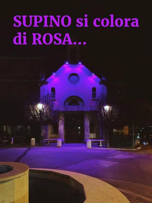 Anche questo anno SUPINO si colora di ROSA...