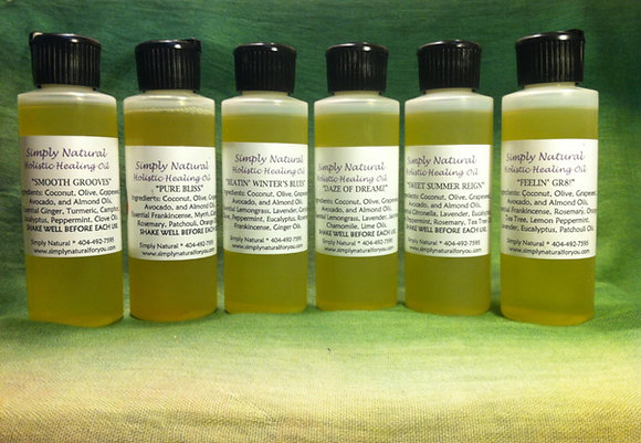Simply Natural© Holistic Healing Oils