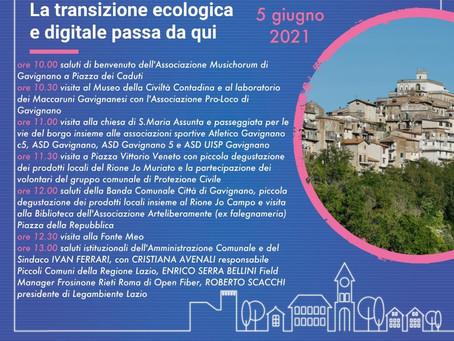 Legambiente LazioGiornata di Orgoglio dei Piccoli Comuni - Voler Bene all'Italia.