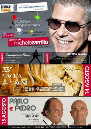 5^ EDIZIONE SGURGOLA DIPINGERE LA MUSICA - CONCERTO ACUSTICO DI MICHELE ZARRILLO