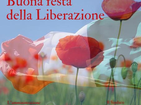 25 APRILE 2021 Anniversario della Liberazione d'Italia.