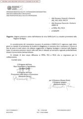 AVVISO PER I CITTADINI CHE ABBIANO SOGGIORNATO NELLA REGIONE SARDEGNA.
