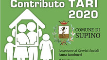 Comune di Supino: Contributo TARI 2020