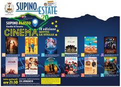 #Supino CINEMA SOTTO LE STELLE - IV Edizione Loc. Giardini di Toronto - ore 21:30